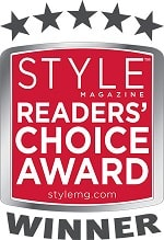 Style Magazine's Readers' Choice Award - 2011, 2013, 2014, 2015