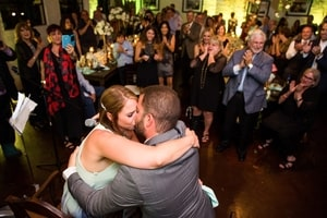 Wedding reception at Mulvaney's B&L, Sacramento, CA